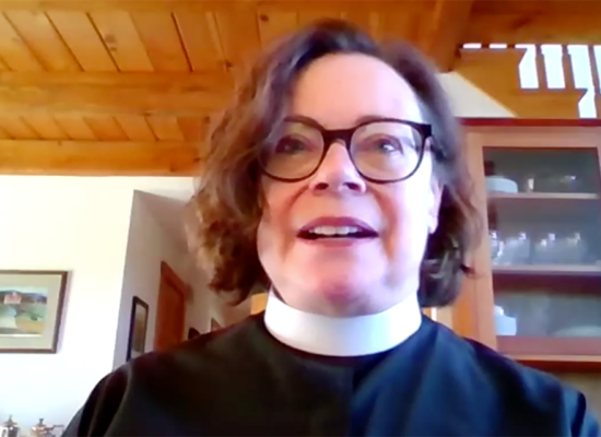 The Rev. Dr. Pamela Cooper-White and Bishop Chilton Knudsen discuss family/partner violence, substance use and mental health as it relates to COVID-19