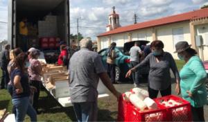 Programa REDES distribución de suministros, octubre de 2020