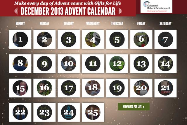 Advent, Gifts for Life,