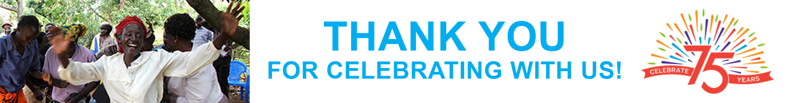 Thank you for celebrating with us!