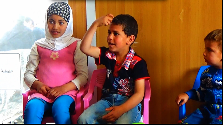 Ibrahim Learning Sign Language at Za'atari Disability Center