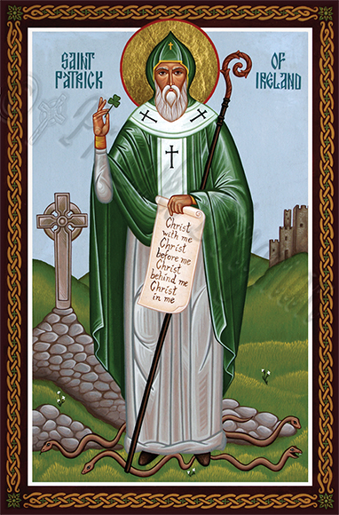 Saint Patrick with Breastplate