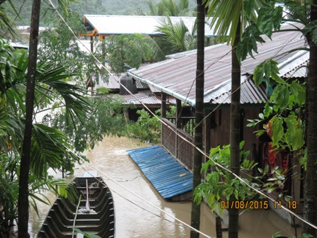 Cyclone Komen Flooding
