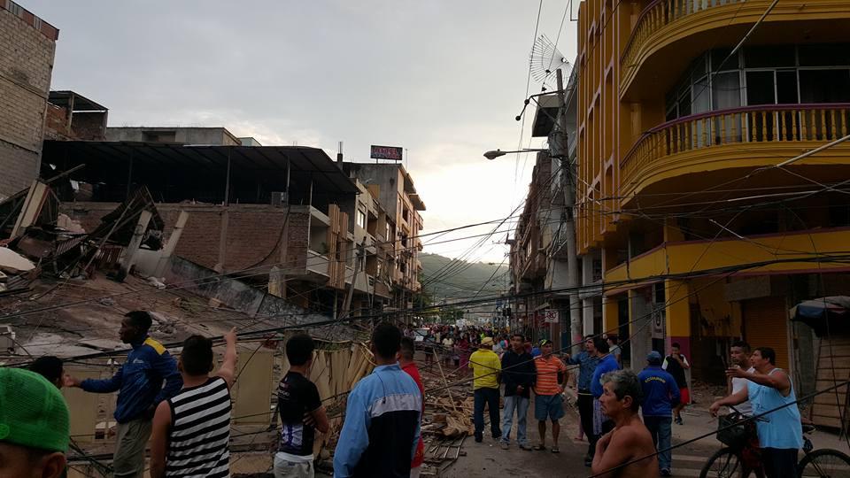 Ecuador earthquake response