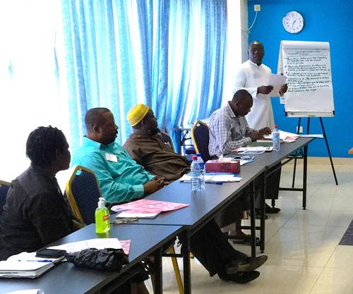 Clergy Training in Liberia
