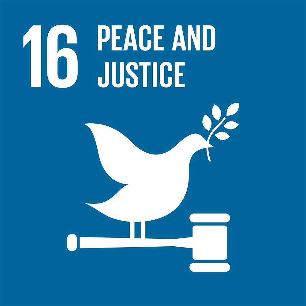 Goal 16: Peace and Justice