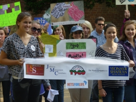 Diocese of VA Youth Stamp Out Malaria